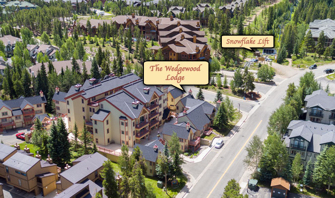 The Wedgewood Lodge Breckenridge hotel.