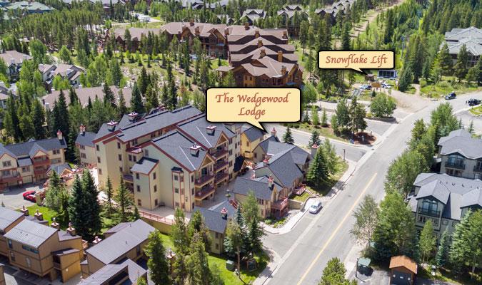 The Wedgewood Lodge Breckenridge hotel.