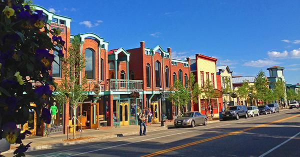 Breckenridge Colorado historic Main Street
