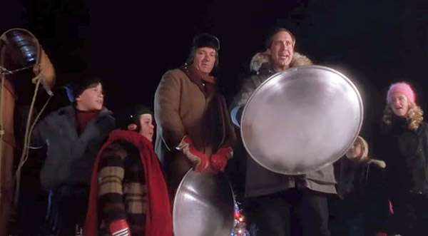 Christmas Vacation Scene Filmed in Breckenridge featuring Chevy Chase