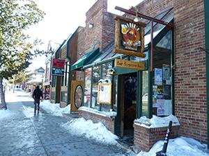 Ollie's Pub & Grub in Breckenridge.