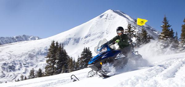 Snowmobiling in Breckenridge O