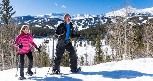 Snowshoeing in Breckenridge CO
