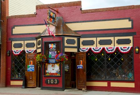 Front of Motherloaded Tavern on Main Street, Breckenridge